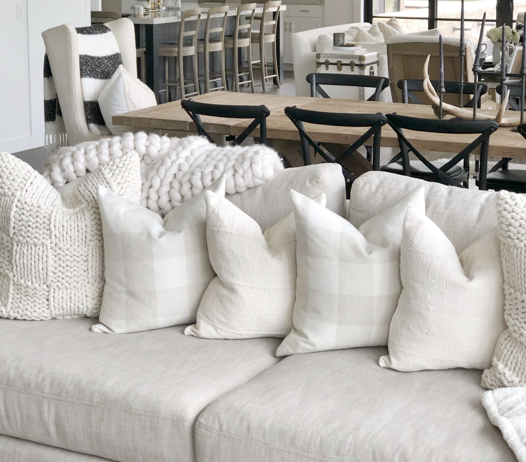 my favorite pillow inserts styled by