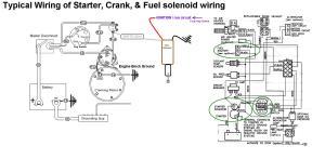 Starter, Crank & Fuel Shutoff Solenoid Wiring  Seaboard Marine