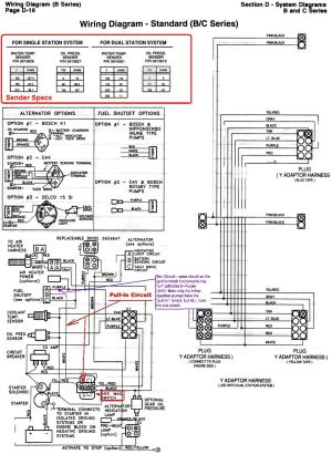 6BTA 59 & 6CTA 83 Mechanical Engine Wiring Diagrams