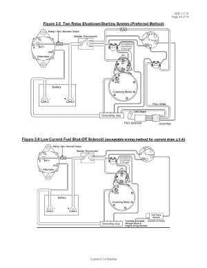 Basic Fuel Shutoff Solenoid and Starter Wiring Information