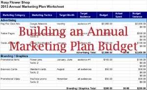 how to use expense tracking to create an annual budget small