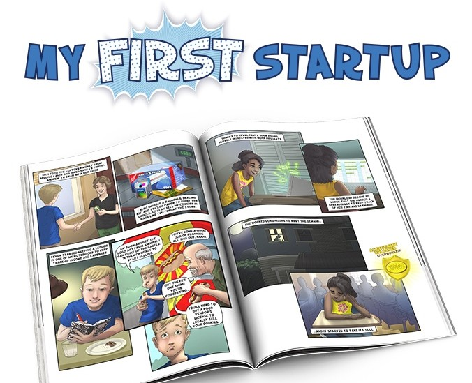 My First Startup Comic Book