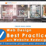 Web Design Best Practices on Small Business Marketing Tools Redesign