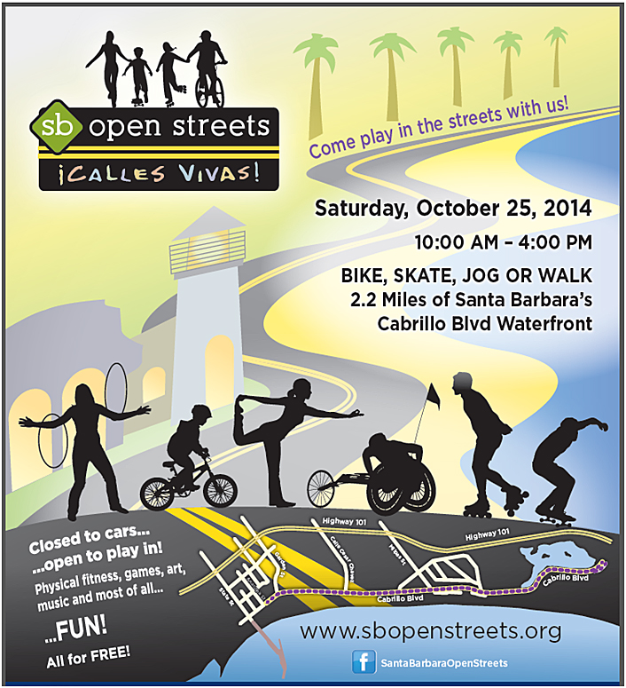 Santa Barbara Open Streets Flyer