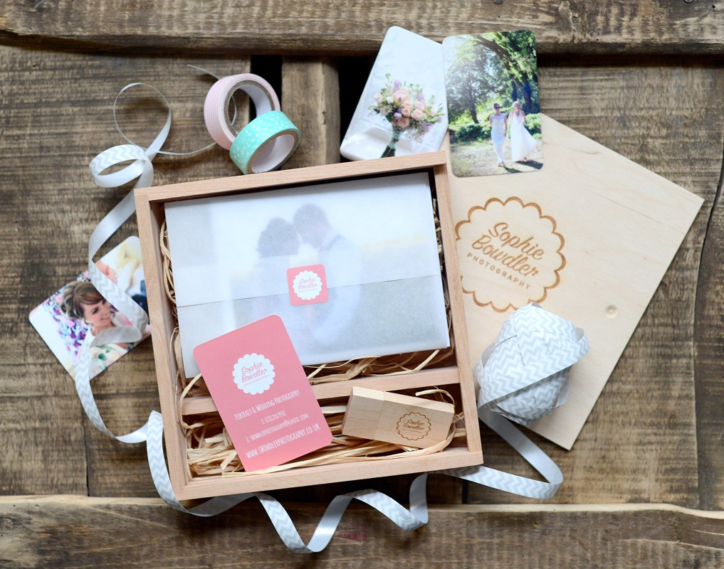 wedding photography usb package