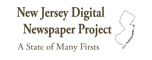 New Jersey Newspaper Project Logo