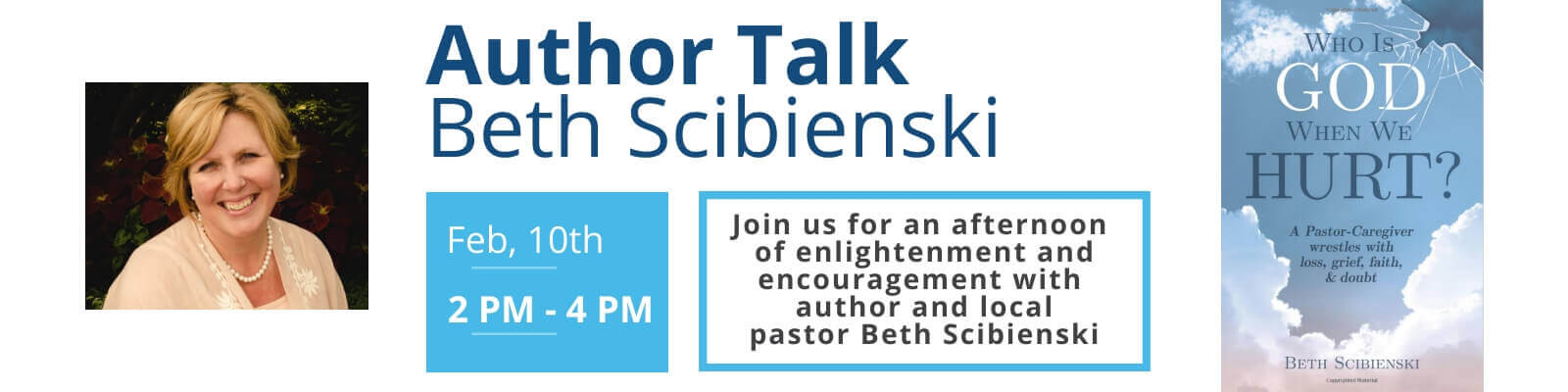 Adult Event | Author Talk with Beth Scibienski | February 10th @ 2pm