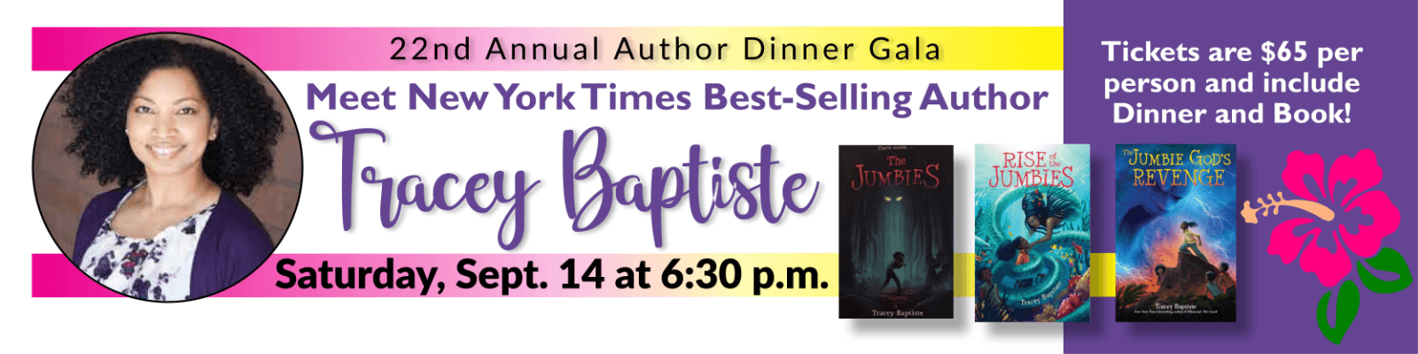Author Dinner - Tracey Baptiste