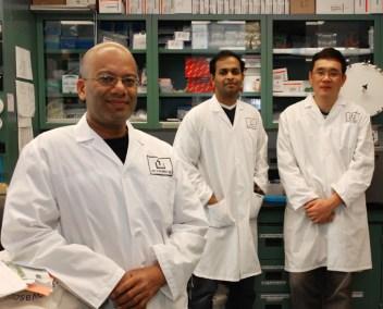 Dr. Netticadan lab staff