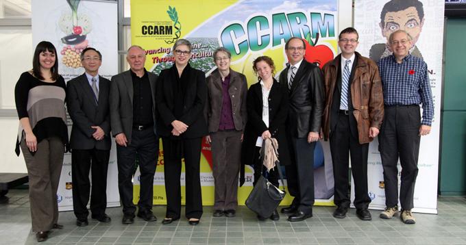 AAFC Deputy Minister visits CCARM