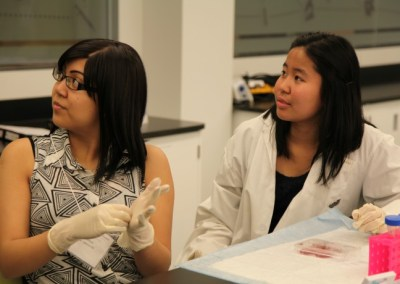 Students in BIOlab