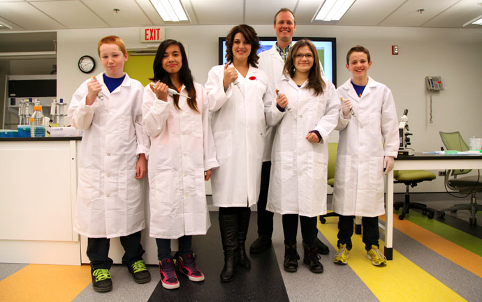 CTV Morning Live visits RBC Youth BIOlab!