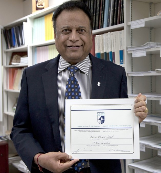 Singal Inducted: Canadian Academy of Health Sciences