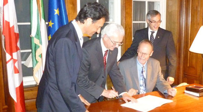 Canadian-Italian research partnership announced