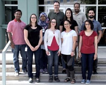 Aukema lab group photo