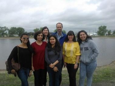 Blewett lab staff