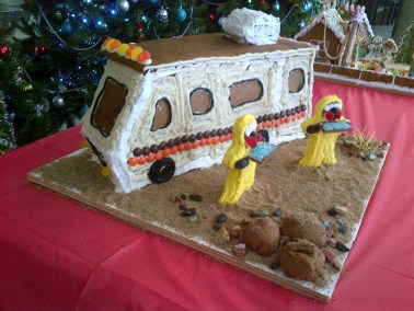 Gingerbread house contest entry