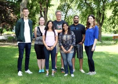 Dixon lab group photo - 2017