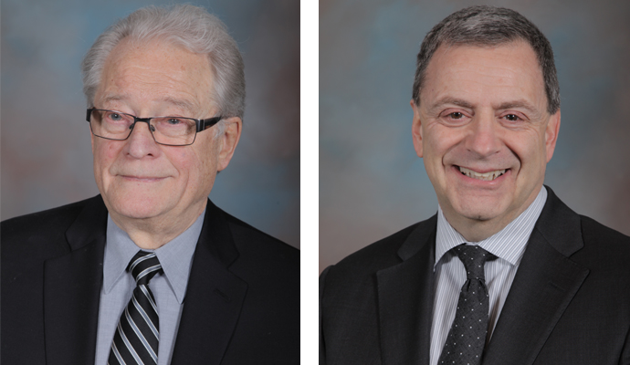 (L-R) Dr. Foerster and Dr. Torcia