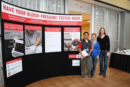 Blood pressure awareness campaign a success!