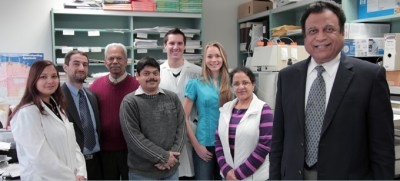 Dr. Singal lab group photo