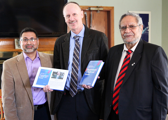"Release of ""Phospholipases in Health and Disease"" celebrated"