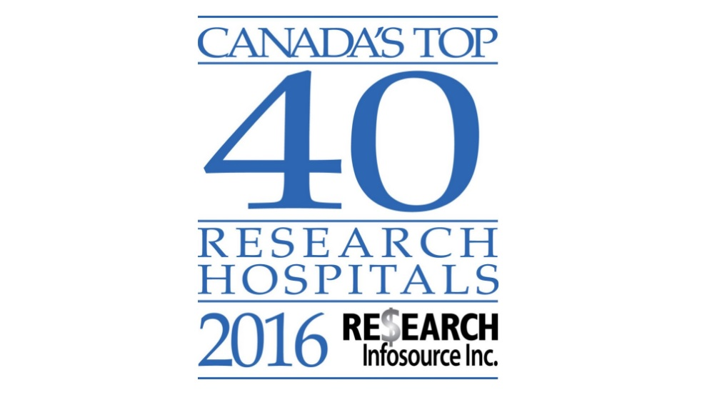 St. Boniface ranks among Canada's top research hospitals