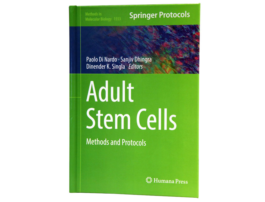 Dhingra co-edits stem cell book
