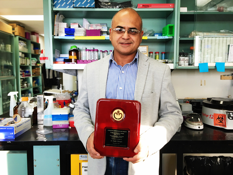Dhingra receives Young Investigator Award