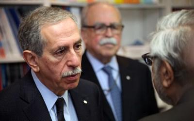Alan Bernstein visits St. B Research