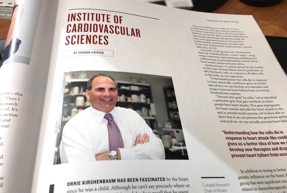 Kirshenbaum in That's Life Mag