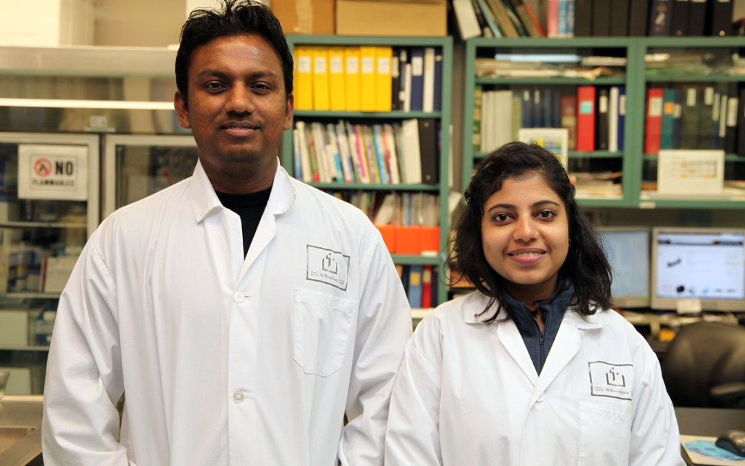 Hewage and Kaur receive studentship awards