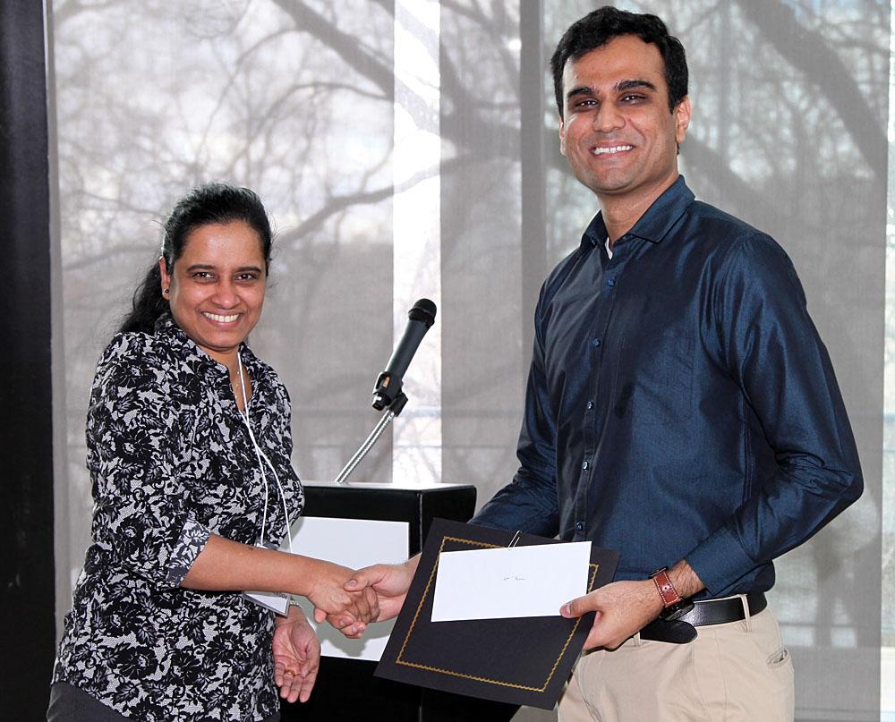 Dr. Champa Wijekoon and Mihir Parikh