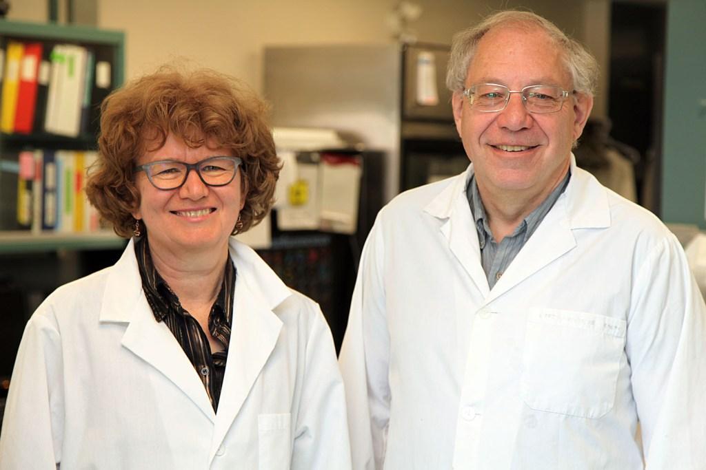 Drs. Carla Taylor and Peter Zahradka