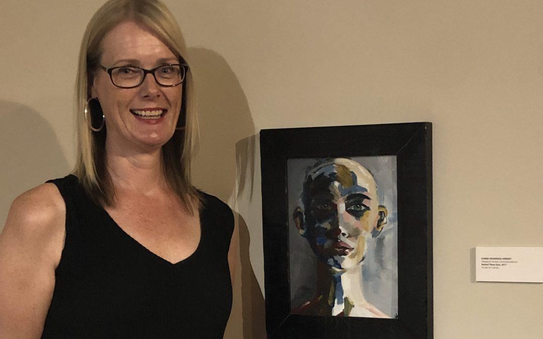 Original Work Featured in Artists' Exhibition