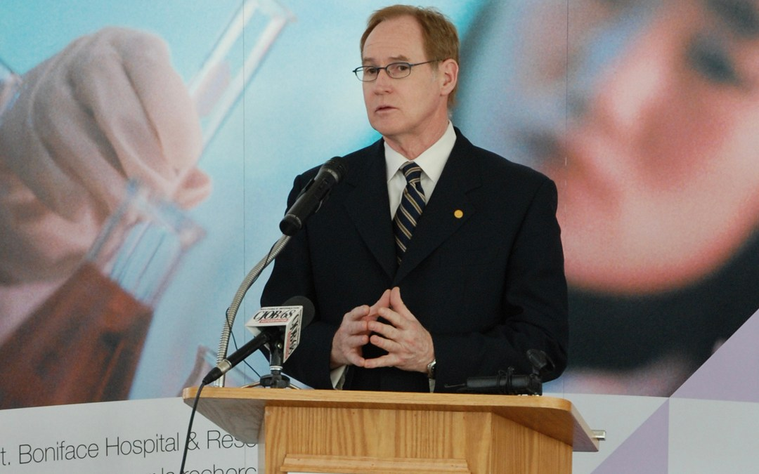 Congratulations to Stuart Murray, named to Order of Manitoba.