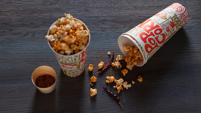 two minute popcorn without a microwave