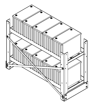 vrla battery racks storage battery