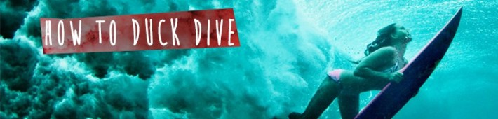 how to duck dive