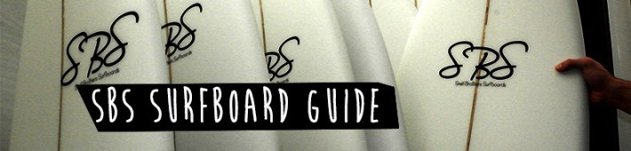 sbs surfboard guide