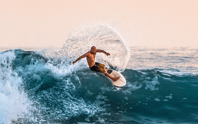 How to do a Top & Bottom Turn in Surfing