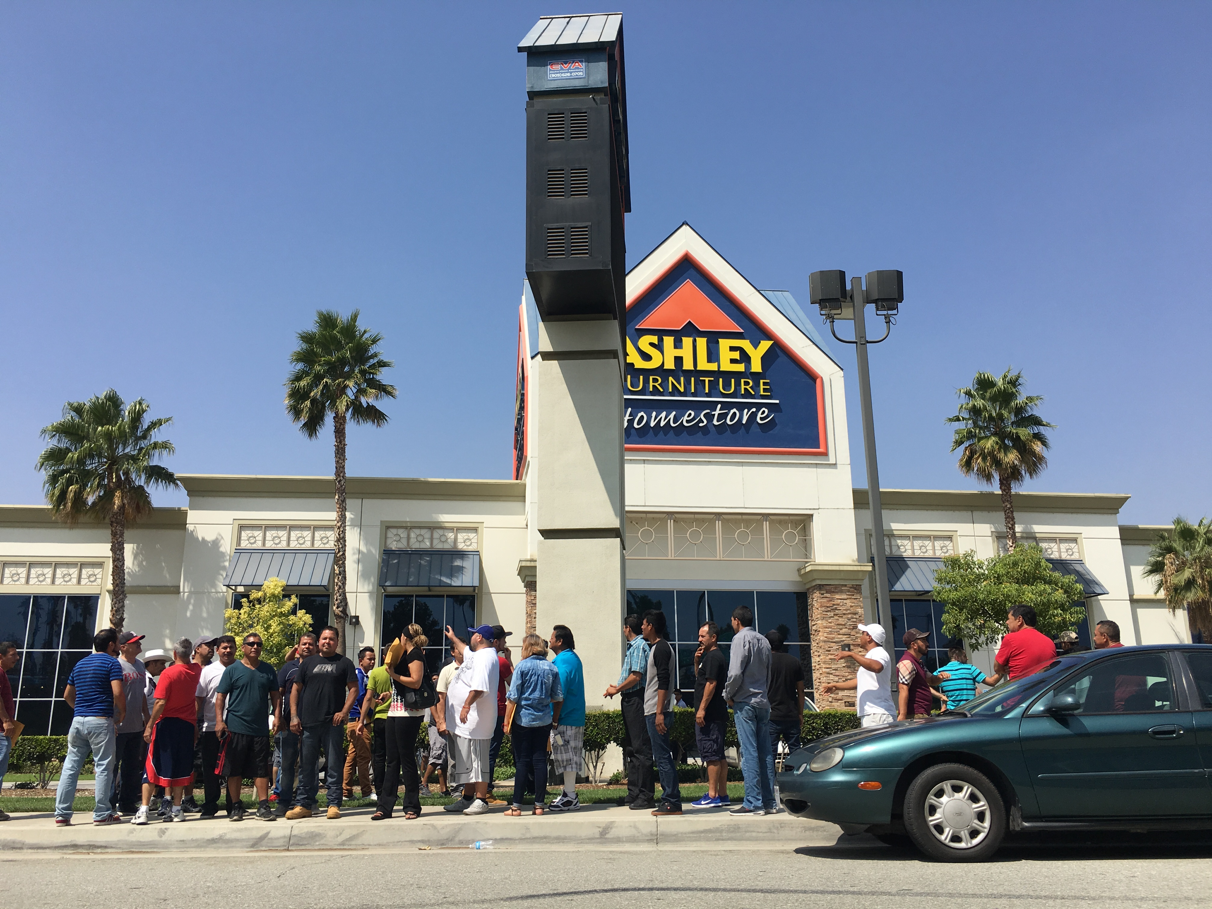 aguilar are helping laid off ashley furniture employees in colton