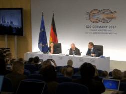Các Bộ Trưởng Tài Chính khối G.20 đồng ý mở cửa thương mại để tăng trưởng kinh tế