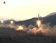 Hoả tiễn Bắc Hàn nổ tung vài giây sau khi được phóng lên