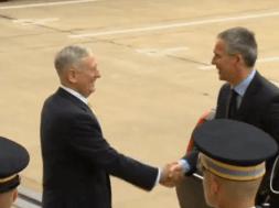 Tổng thư ký Nato dự cuộc họp tại Ngũ Giác Đài