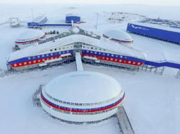 Russia's Arctic Shamrock military base on Alexandra Land of Franz Josef Land