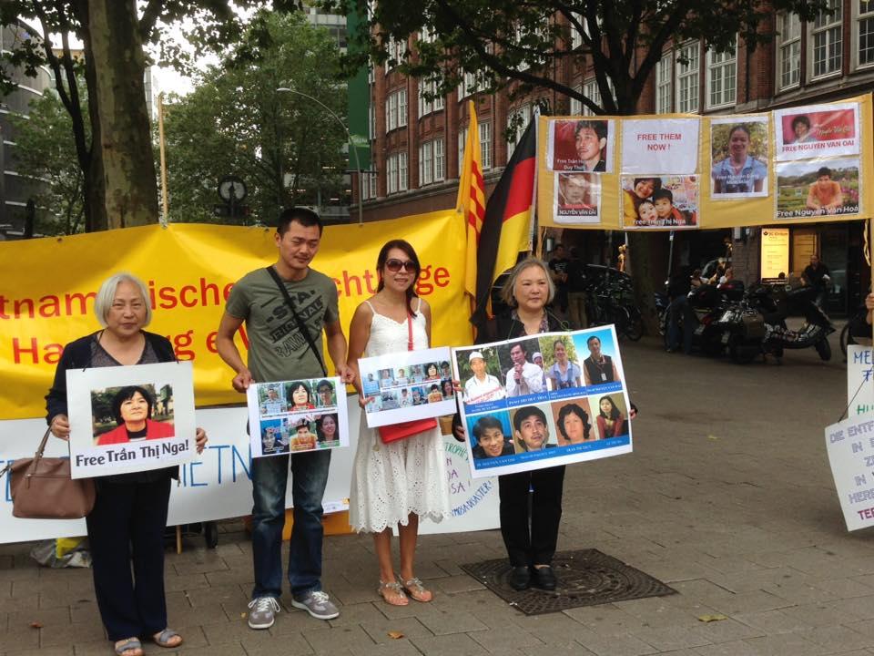 Cộng đồng người Việt tại Đức cám ơn nước Đức hành động chống mật vụ CSVN