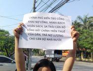 nợ lương (facebook Pham Thu Huong)