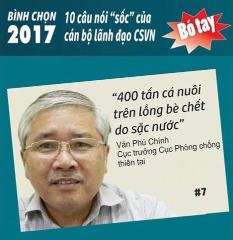 Những câu nói gây sốc của lãnh đạo CSVN trong năm 2017