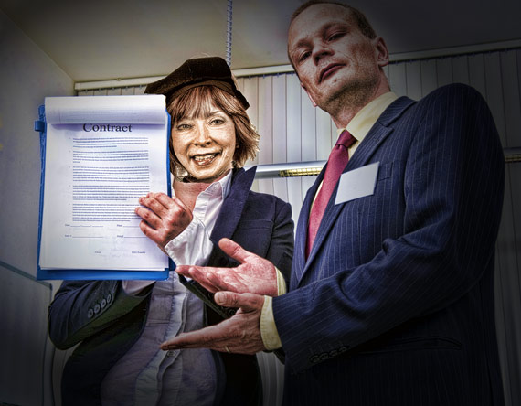Dear Leader readies herself to unveil to 2013 Faculty Contract